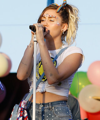 Miley Cyrus Unleashed All the Rainbows for Her Pride Concert Performance