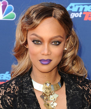 Tyra Banks Is Beyond Fierce in Her First Photo Back on the ANTM Panel