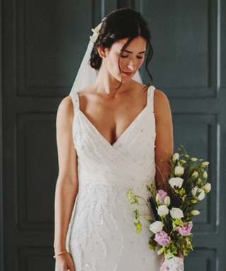 This Shapewear Dress Will Help You Avoid a UniBoob on Your Wedding Day