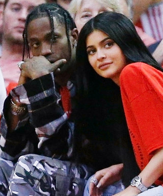 Pregnant Kylie Jenner and Travis Scott Posed Together in a Photo Booth