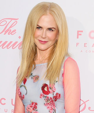 We Can't Get Over Nicole Kidman's Pink and Blue Gown