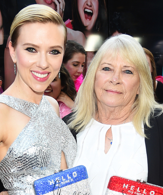Scarlett Johansson Shows Her 72-Year-Old Doppelgänger the Time of Her Life