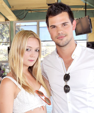 """Taylor Lautner Stepped Up """"Like a Husband"""" to Support Billie Lourd, According to Her Uncle"""