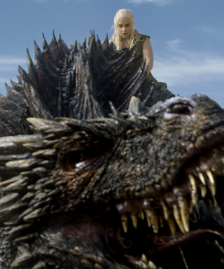 Emilia Clarke Riding a Pre-CGI Dragon Is Actually Hilarious