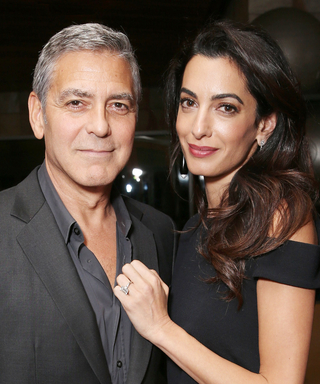 The Untold Story of When George Clooney and Amal Clooney Met Is Too Sweet