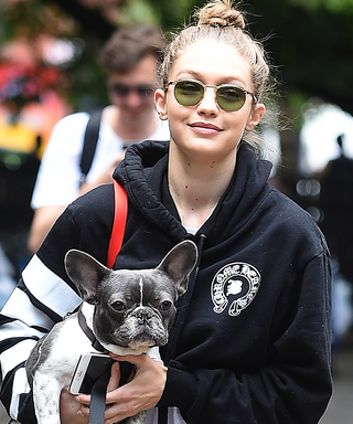 Gigi Hadid Takes Dog Walking Style to a Whole New (and Chicer) Level