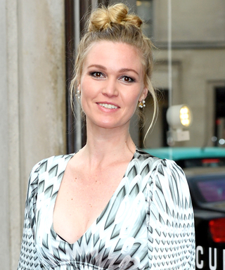 Julia Stiles Unveils Her Barely There Baby Bumpon the Red Carpet