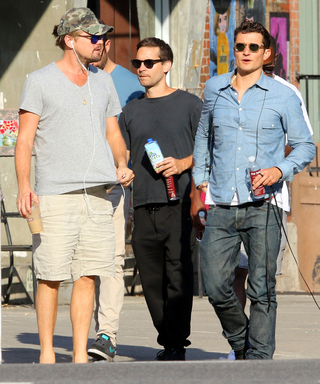 Leonardo DiCaprio, Orlando Bloom, and Tobey Maguire Form a Sexy Bro Squad