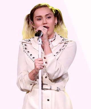 Miley Cyrus's Elvis-Inspired White Pantsuit Is What Fashion Dreams Are Made of