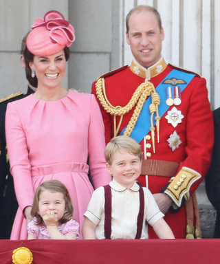 Prince George and Princess Charlotte Stole Spotlight at Queen's Bday