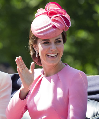 Kate Middleton is Pretty in Pink and More Trooping Highlights
