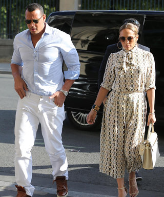 J.Lo and A-Rod Have Maximum Romance in France