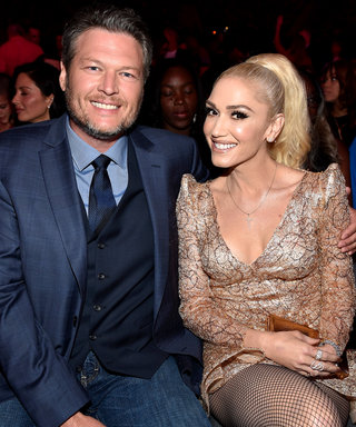 Blake Shelton Spends His Birthday with Gwen Stefani and an Armadillo Cake