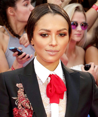 Daily Beauty Buzz: Kat Graham's Glittery Gold Eyeshadow