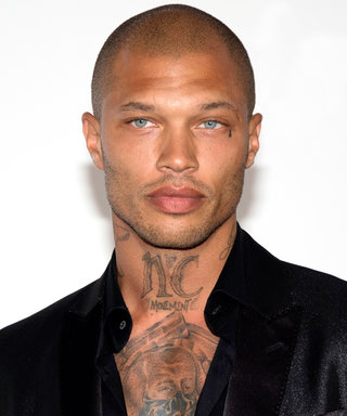 """""""Hot Convict"""" Jeremy Meeks Returns to the Runway (Sans Shirt)"""