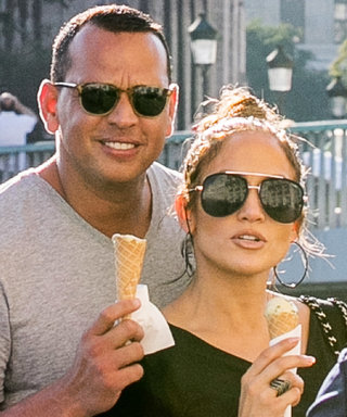 J.Lo Basically Wore a Ball Gown for Date Night with A-Rod