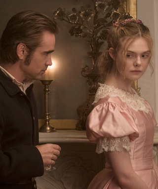 Elle Fanning Had to Chew Gum Before Kissing Colin Farrell in The Beguiled