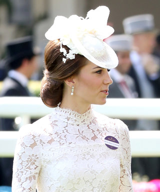 Kate Middleton Gives Off Bridal Vibes in a Lace Alexander McQueen Dress
