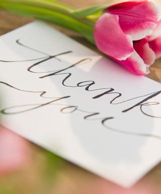 11 Beautiful Wedding Thank-You Cards