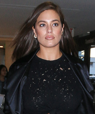 Ashley Graham Flaunts Her Toned Midriff in Flattering Activewear