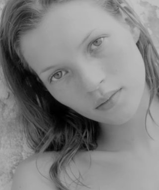 We Are Living For the Old-School Images of Kate Moss in Calvin Klein's Fragrance Campaign