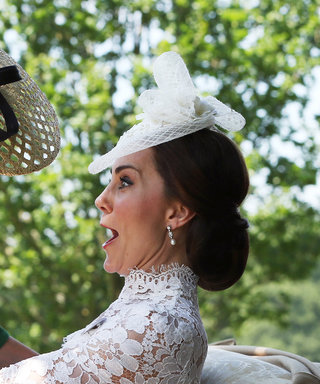 Kate Middleton Rescues the Countess of Wessex From Hilarious Fall at Royal Ascot