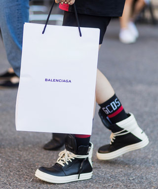 Balenciaga Wants to Sell You a £900 Shopping Bag