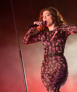 Lorde Showed Us the Cool Way to Rock Flowers at a Festival