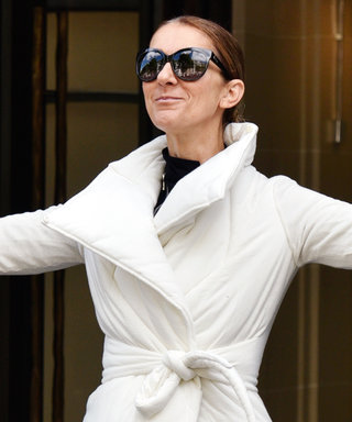 Celine Dion Holds a Yoga Pose in Public Because It's Celine Dion