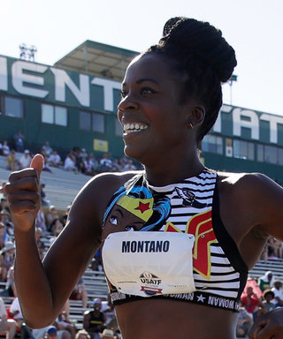 This Olympian Ran a Race While Five Months Pregnant and the Photos Are Incredible