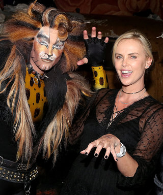 Charlize Theron Hung Out with the Cast of Cats—Because Why Not?