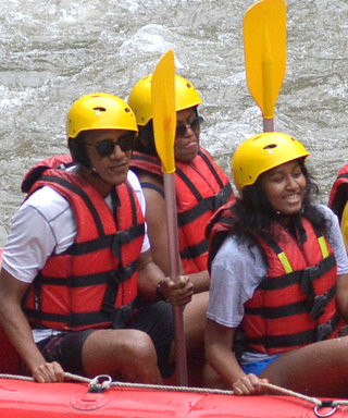 The Obamas Are Vacationing in Bali and You Have to See Them Rafting