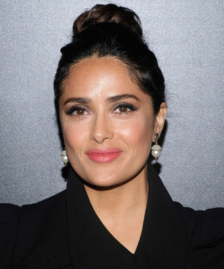 Salma Hayek Just Showed Us Her Undergarments