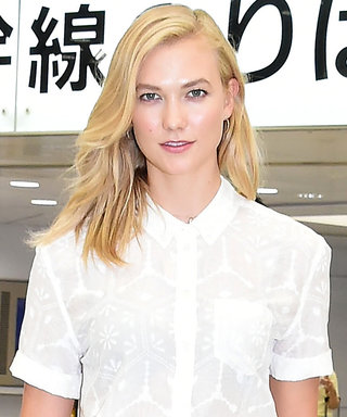 Karlie Kloss Just Wore Floral Pajama Pants on the Subway
