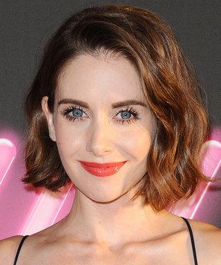 Alison Brie Looks Like a Parisian Pixie in Her First Driver's License Photo