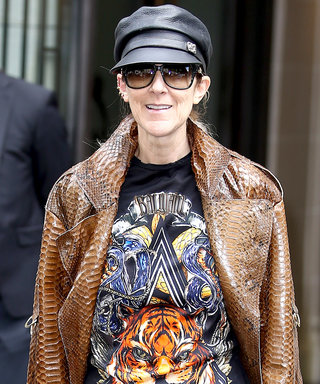 Celine Dion Goes Totally Pantless in Thigh-High Balmain Boots