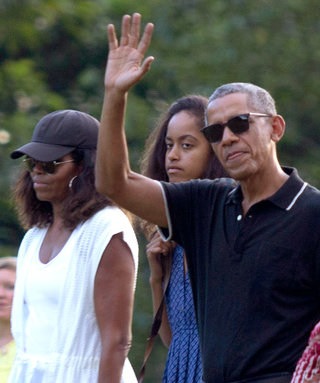 Michelle and Malia Obama Tour the Indonesian City Where Barack's Mom Worked in Breezy Summer Looks