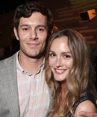 "Leighton Meester and Adam Brody Have a ""Seth and Blair Day"""