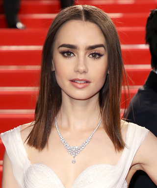 "Lily Collins Was Told She ""Looked Great"" While Playing an Anorexia Patient"