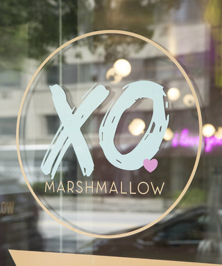 See Inside the World's First Marshmallow Cafe (Hint: It's Super Pink)
