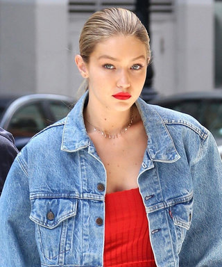 Gigi Hadid Steps out in Baggy Denim (and We're Obsessed)