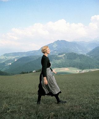 Julie Andrews Completely Wiped Out While Filming That Iconic Sound of Music Scene