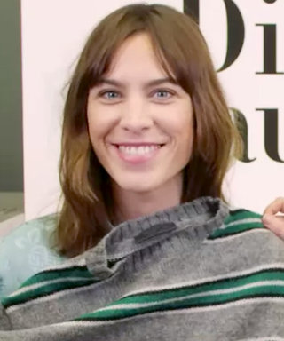 Alexa Chung Cannot Stop Wearing This Men's Prada Sweater