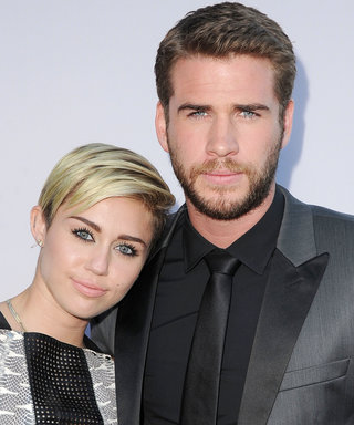Here's a Photo of Miley Cyrus and Liam Hemsworth's First Kiss