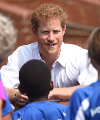 Prince Harry Thinks We Spend Too Much Time on Our Phones