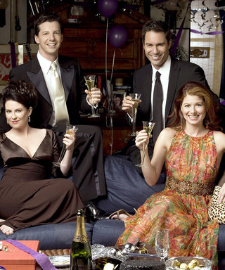 The Cast of Will & Grace Strips Down for a Bubbly New Promo Poster