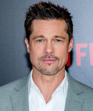 Brad Pitt Wears Nothing but a Tee and Jeans, Makes Our Mouths Water