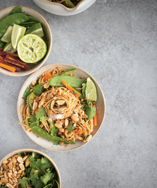 10 Minute Chilled Peanut Noodles