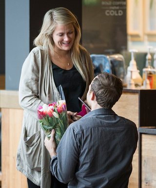 This Couple's Starbucks Proposal Is Straight Out of a Rom-Com