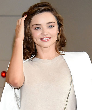 Miranda Kerr Gives Floral Pants a Supermodel Twist